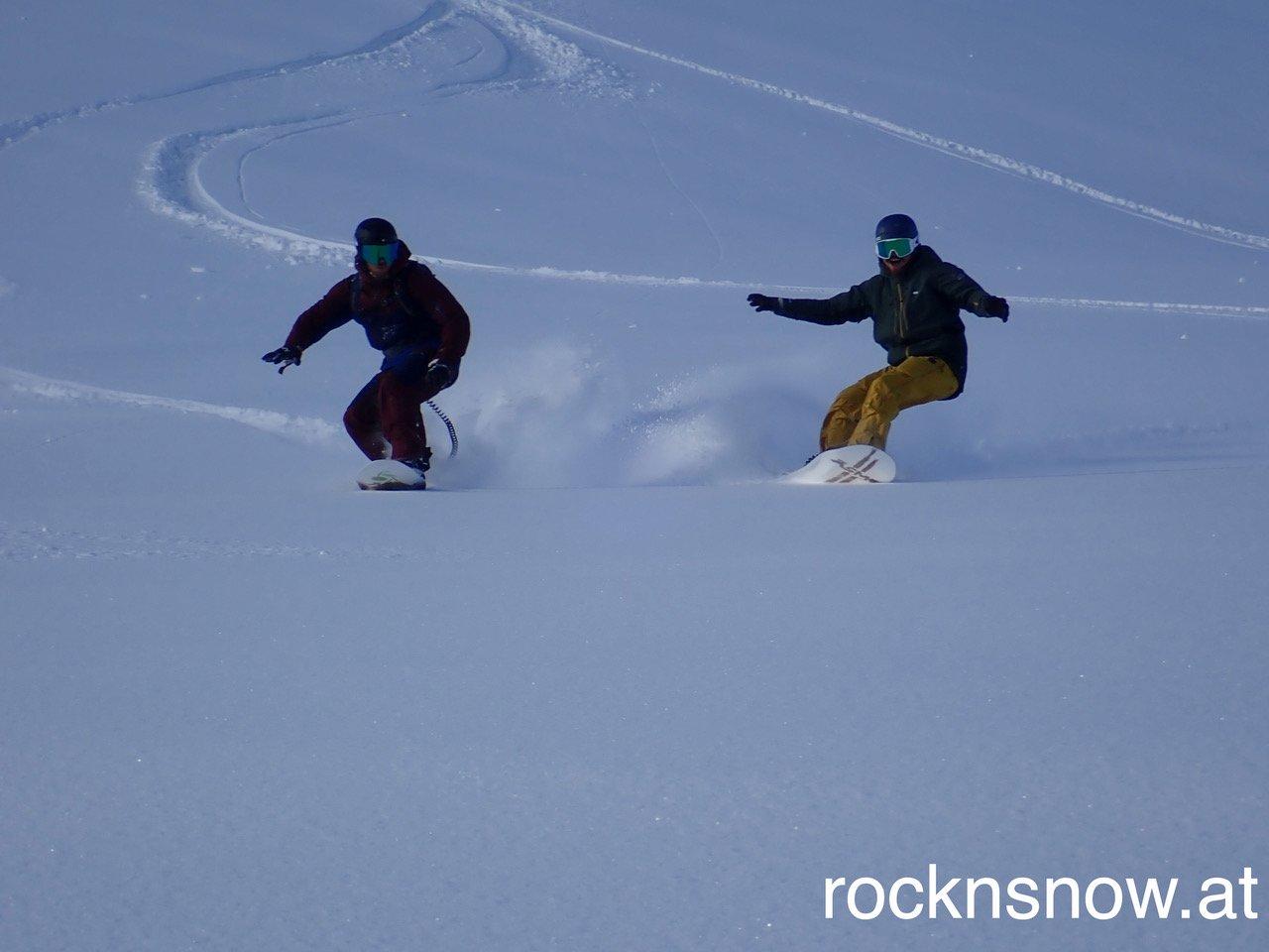 Powder surfen - to much fun ;-)