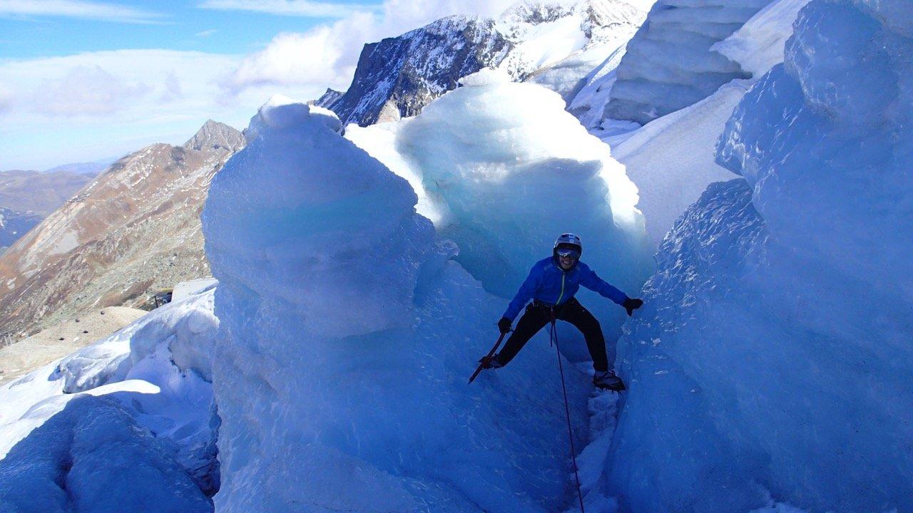 Klettergurt Für Gletscher : Geführte eiskletter touren am hintertuxer gletscher