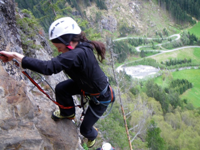 Klettersteig Zillertal : Huterlaner klettersteig mayrhofen zillertal