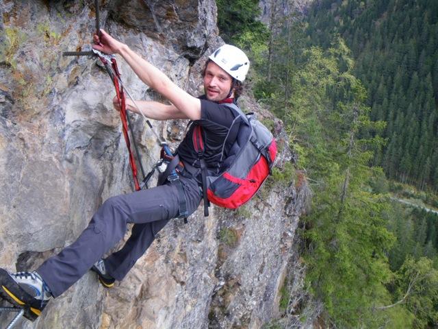 Klettersteig Nasenwand : Klettersteig kurse im zillertal