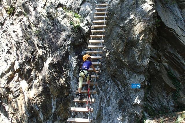 Klettersteig Himmelsleiter : Klettersteig kurse im zillertal