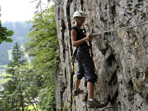 Klettersteig Levels : Klettersteig kurse im zillertal